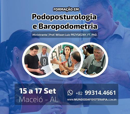 Formação em Podoposturologia e Baropodometria