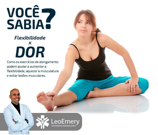 Você Sabia ? Flexibilidade x Dor