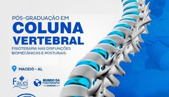 Pós Graduação em Coluna Vertebral – Fisioterapia nas Disfunções Biomecânicas e Posturais