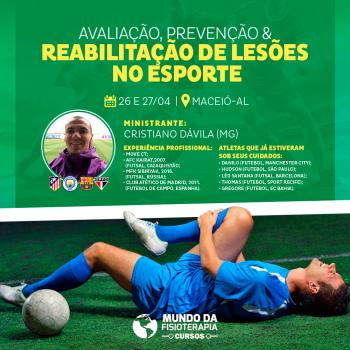 Avaliação, Prevenção & Reabilitação de Lesões no Esporte