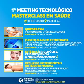 1º Meeting Tecnológico Masterclass em Saúde