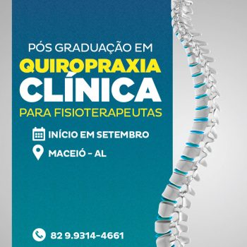 Pós-Graduação em Quiropraxia para Fisioterapeutas