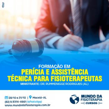 Perícia e Assistência Técnica Judicial para Fisioterapeutas – Maceió