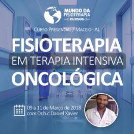Fisioterapia em Terapia Intensiva Oncológica