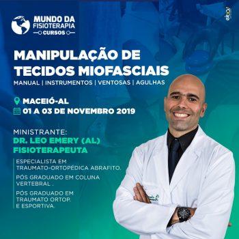 Manipulação de Tecidos Miofasciais (Manual, Instrumentos, Ventosas, Agulhas)