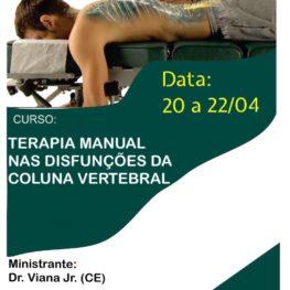 Terapia Manual nas Disfunções da Coluna Vertebral