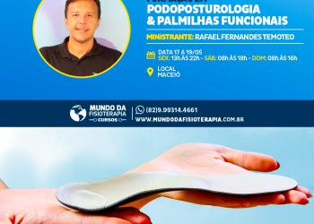 Formação em Podoposturologia, Baropodometria e Palmilhas