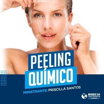 Peeling Químico – ON LINE E AO VIVO