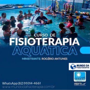 FISIOTERAPIA AQUÁTICA (HIDROTERAPIA) – Dr. Rogério Antunes (PE)