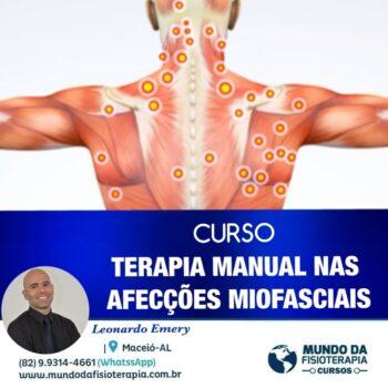 TERAPIA MANUAL NAS DISFUNÇÕES MIOFASCIAIS – Manual e Instrumentos