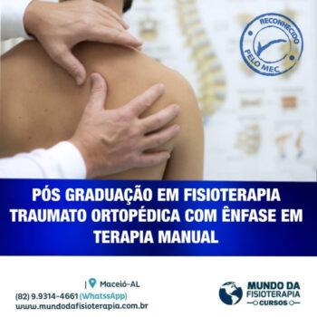Pós Graduação em Fisioterapia Traumato Ortopédica com ênfase em Terapia Manual