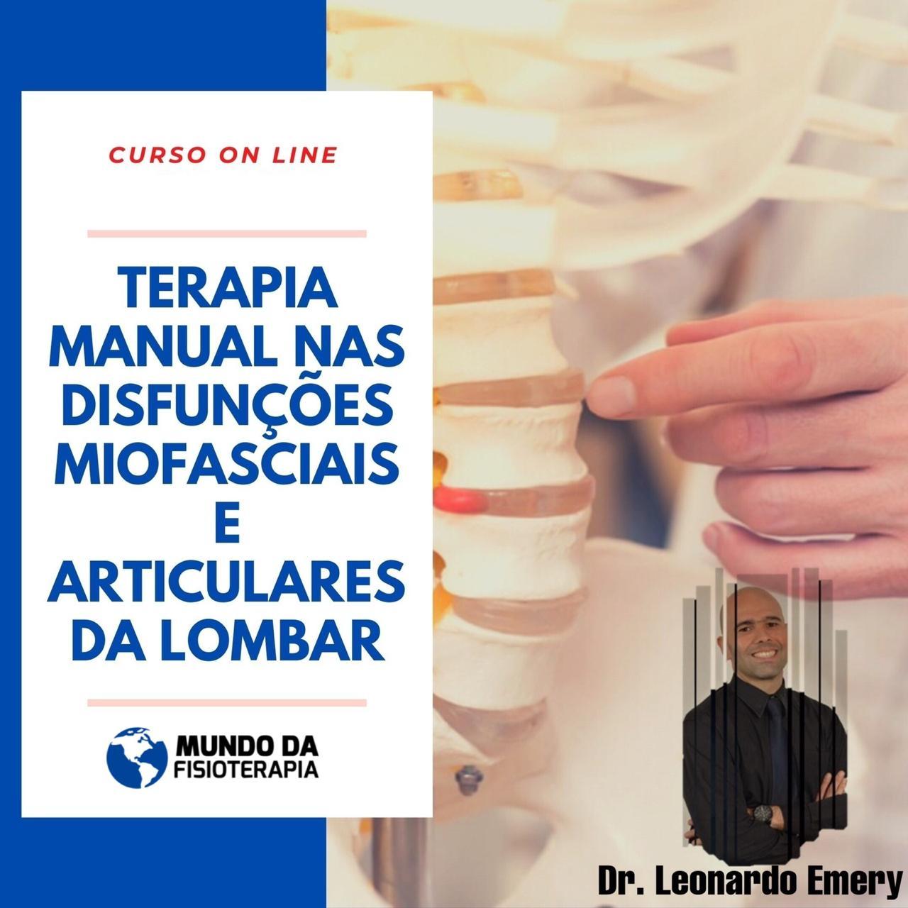 TERAPIA MANUAL NAS DISFUNÇÕES MIOFASCIAIS E ARTICULARES DA COLUNA LOMBAR