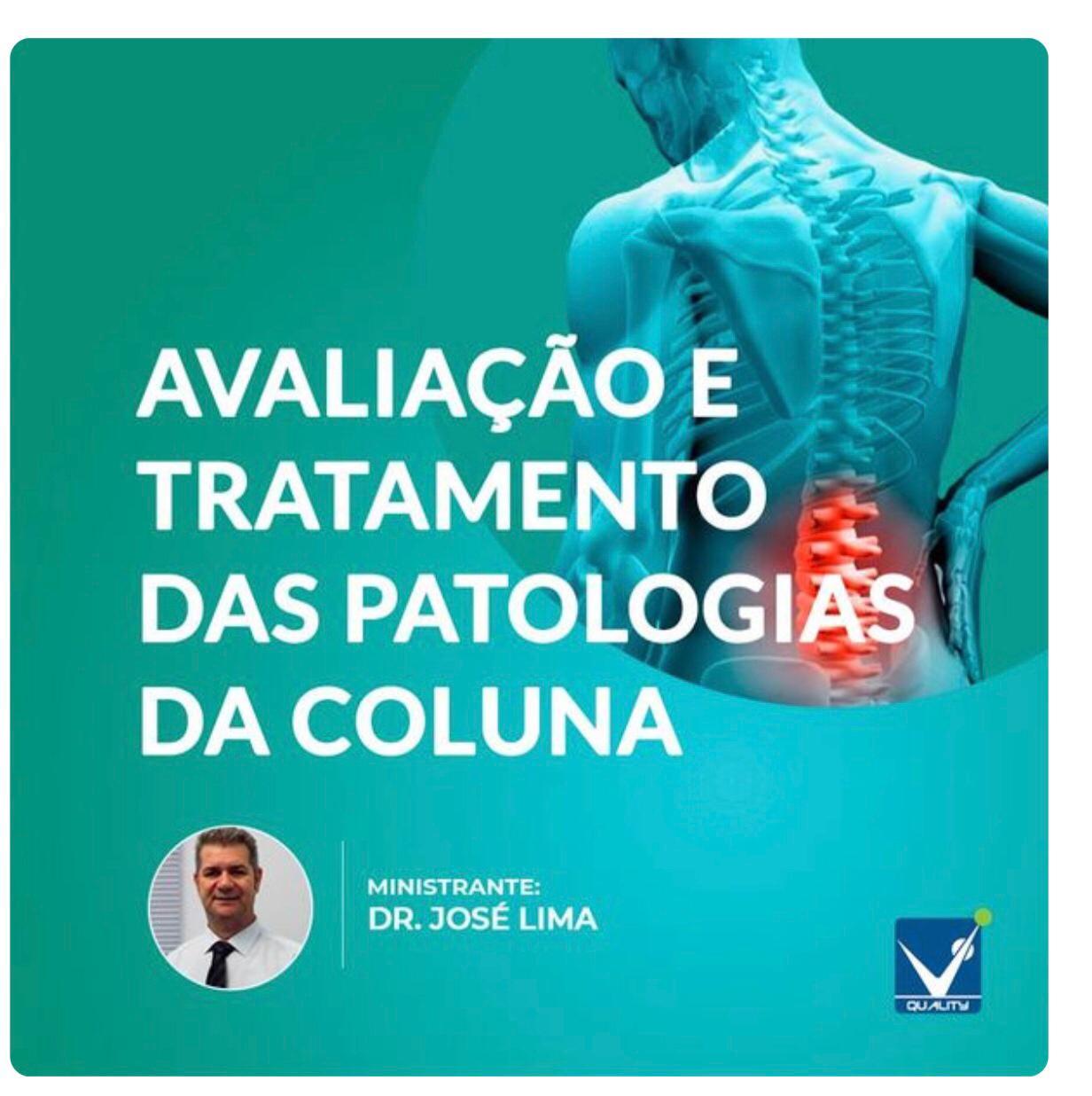 Curso de Avaliação e Tratamento das Patologias da Coluna Vertebral
